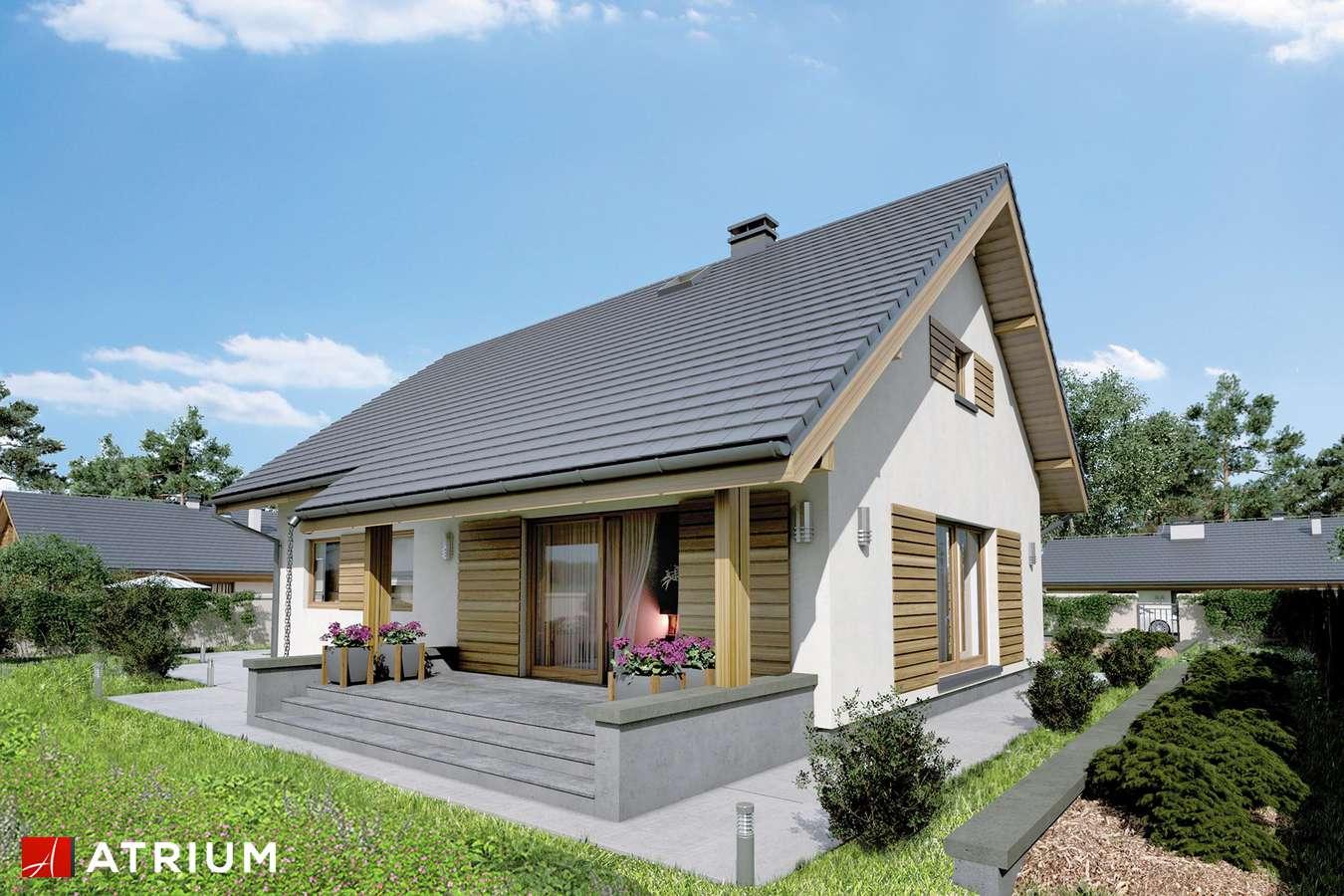 Projekt domu z poddaszem NEO X - wizualizacja 2