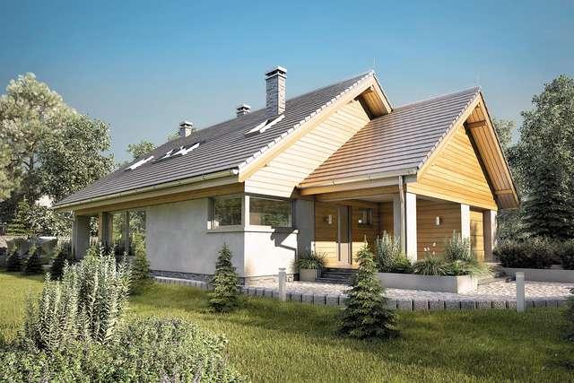 Projekt domu Pelikan XVII