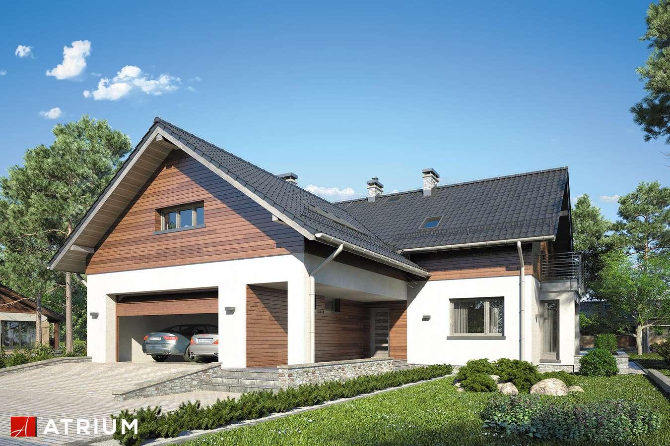 Projekty domów - Projekt domu z poddaszem MERLOT - wizualizacja 1
