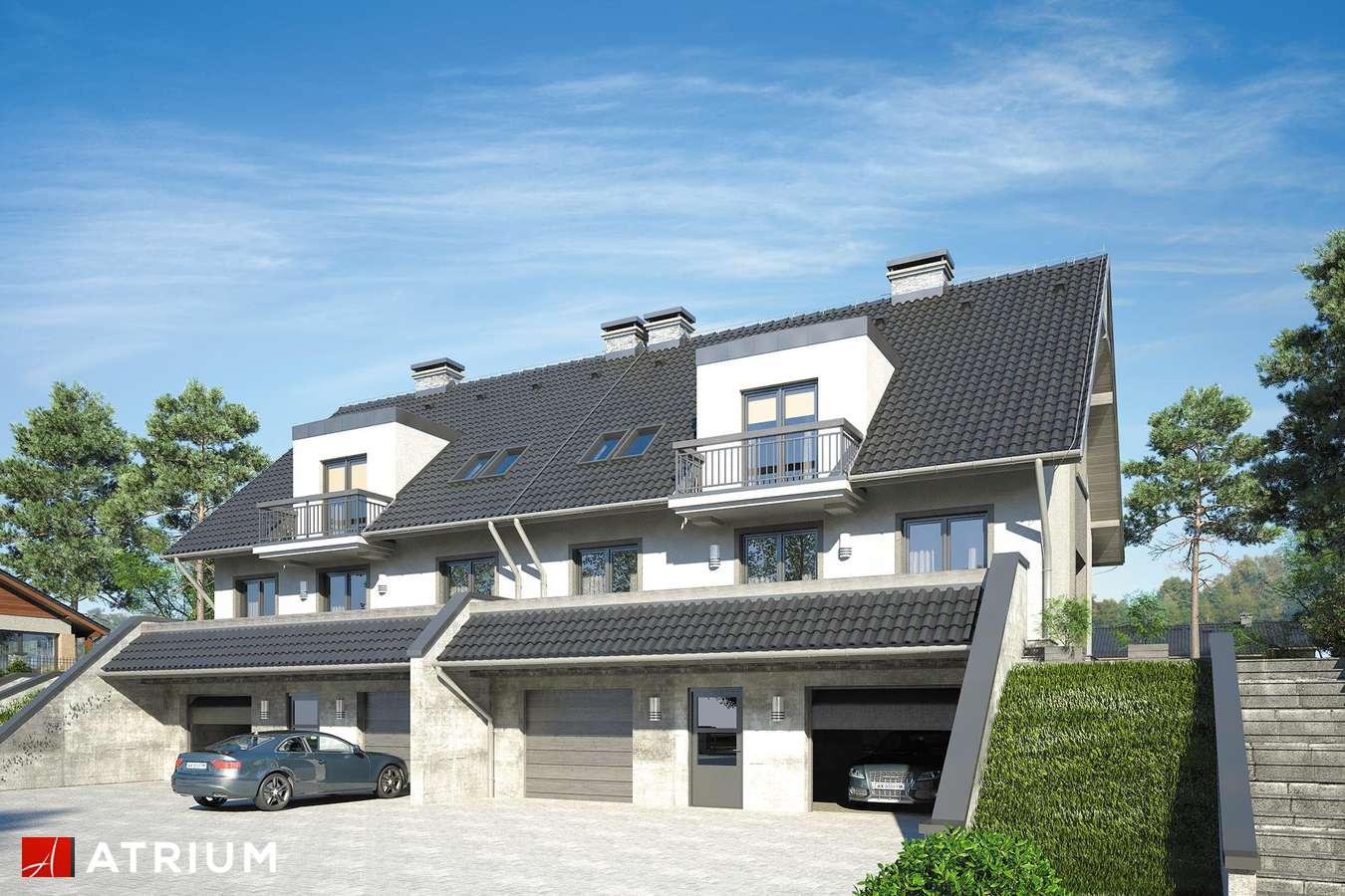 Projekty domów - Projekt domu z poddaszem MAREK I WACEK II - wizualizacja 1
