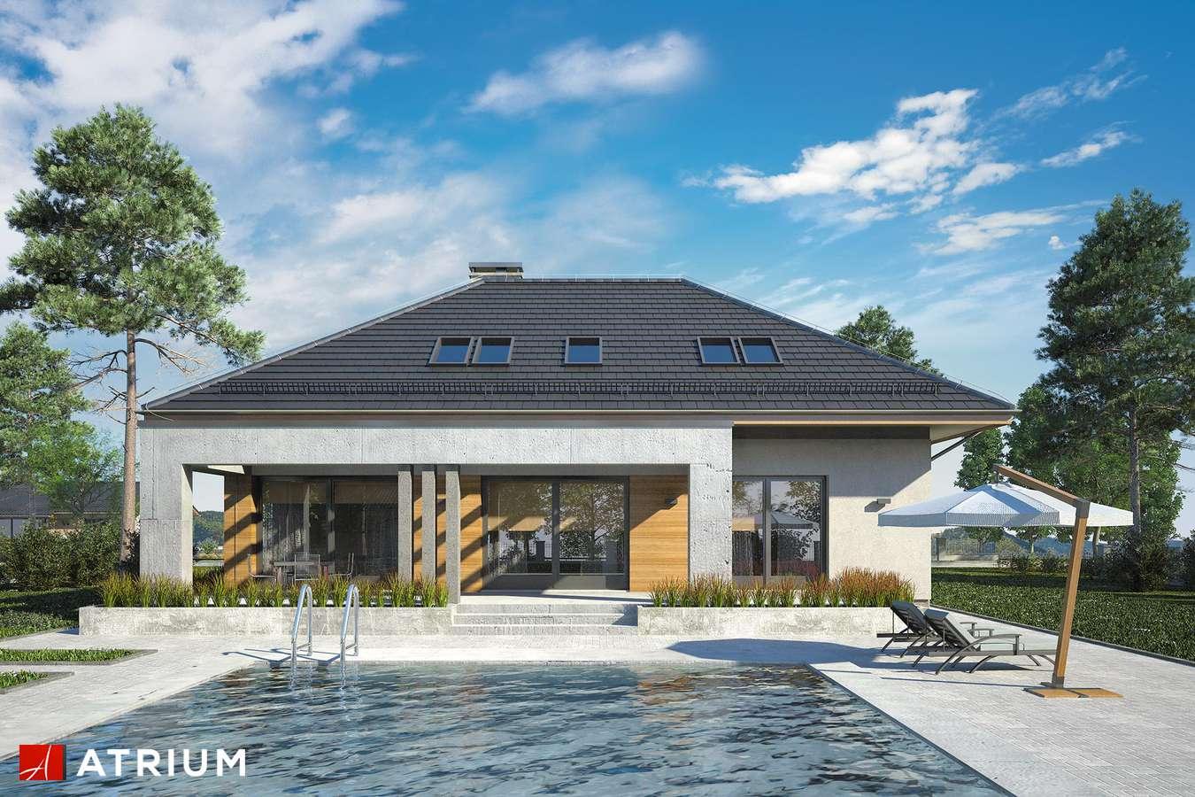 Projekty domów - Projekt domu z poddaszem CABERNET - wizualizacja 2