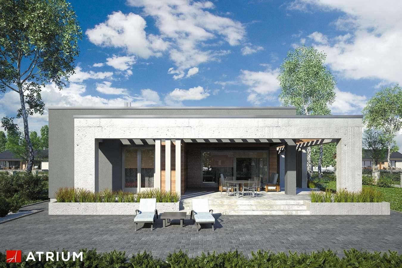 Projekty domów - Projekt domu parterowego SARDYNIA VIII - wizualizacja 2