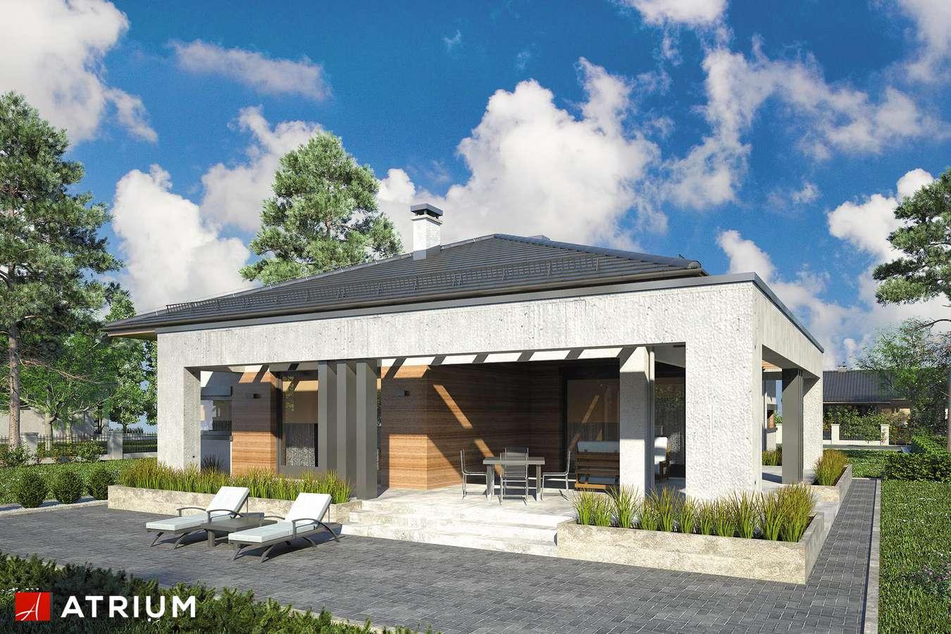 Projekty domów - Projekt domu parterowego SARDYNIA VII - wizualizacja 2