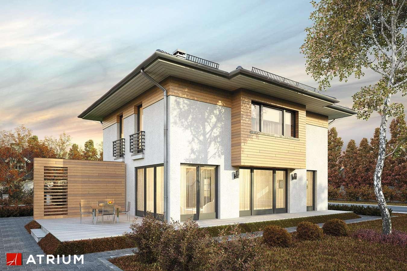 Projekty domów - Projekt domu piętrowego MILANO V - wizualizacja 1
