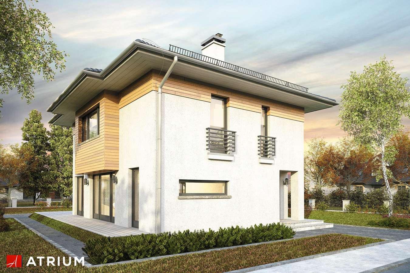 Projekty domów - Projekt domu piętrowego MILANO V - wizualizacja 2