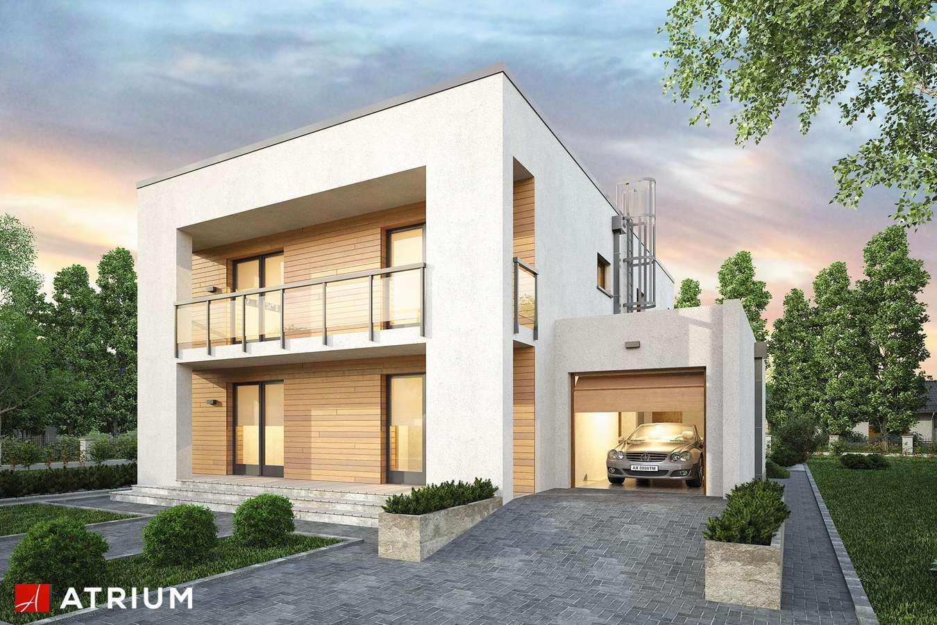 Projekty domów - Projekt domu piętrowego RAMABOX III NF40 - wizualizacja 1