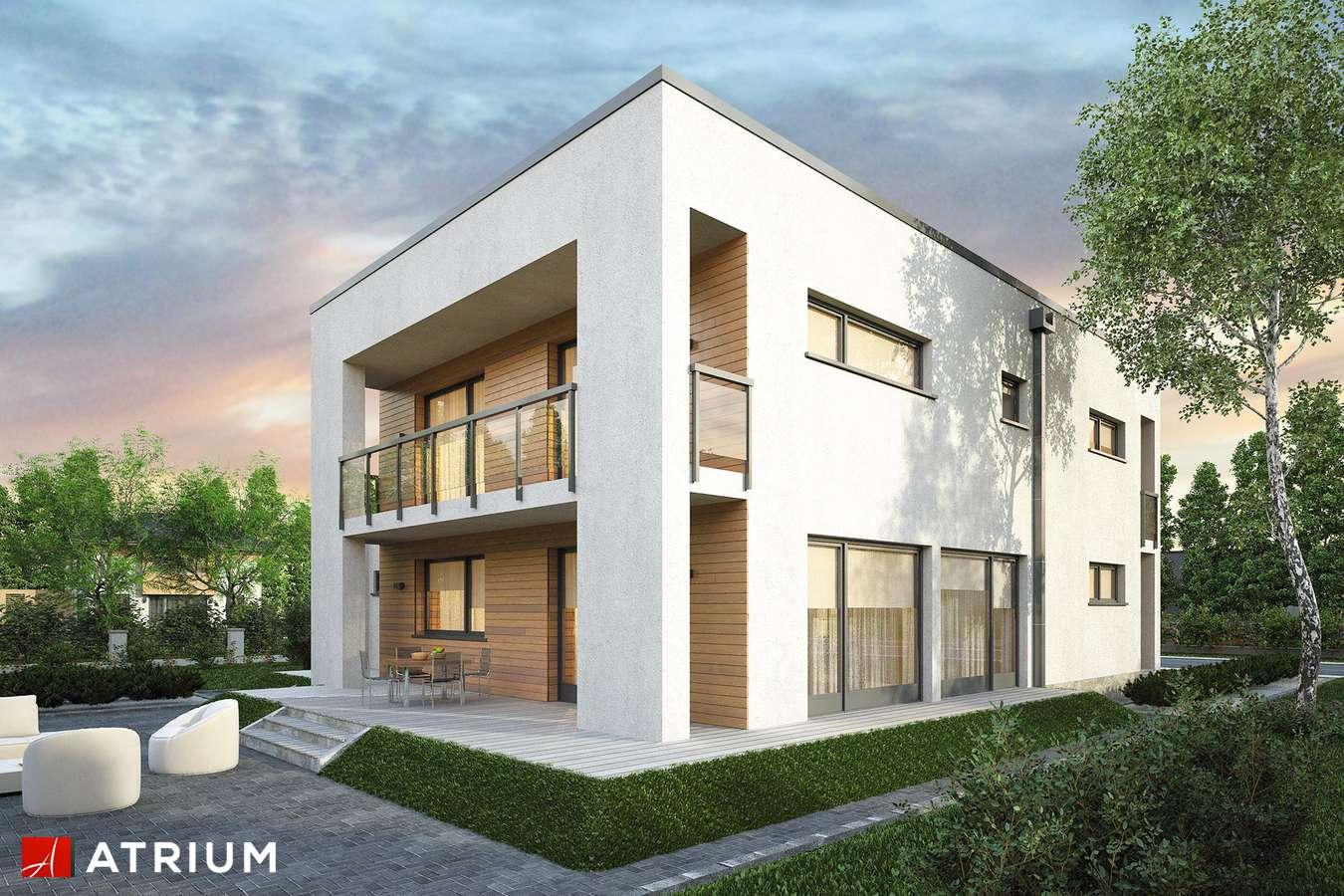 Projekty domów - Projekt domu piętrowego RAMABOX III NF40 - wizualizacja 2