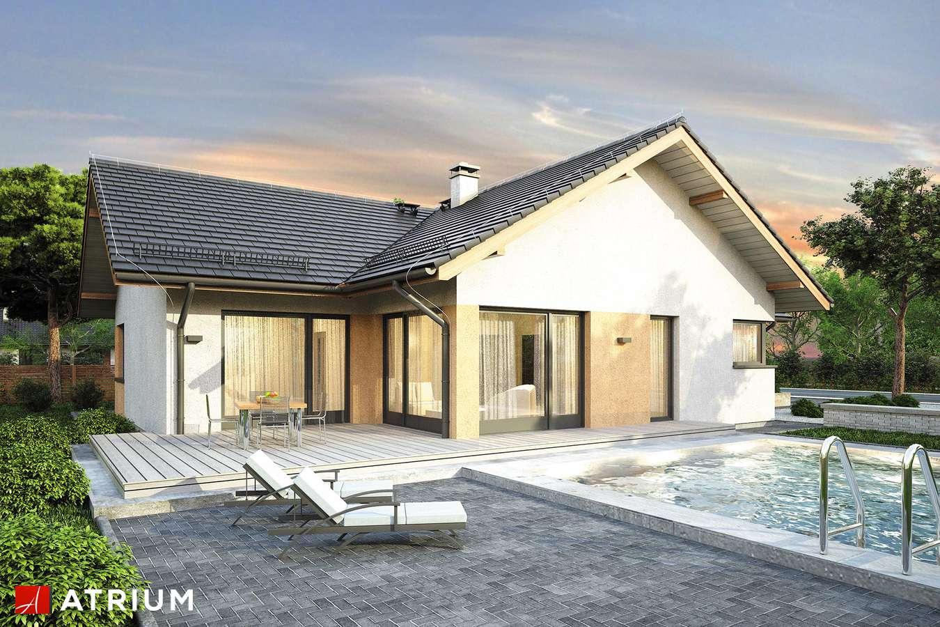 Projekty domów - Projekt domu parterowego OSTOJA IX - wizualizacja 2