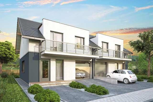 Projekt domu Double House