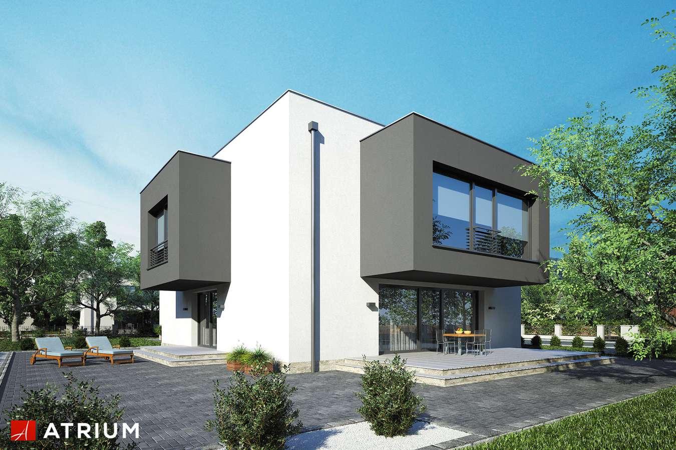 Projekty domów - Projekt domu piętrowego SENATOR IV - wizualizacja 1