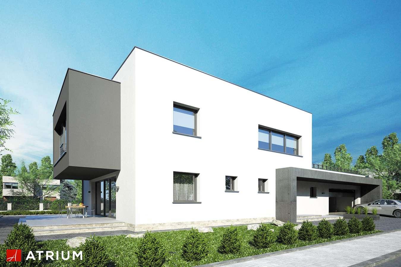 Projekty domów - Projekt domu piętrowego SENATOR IV - wizualizacja 2