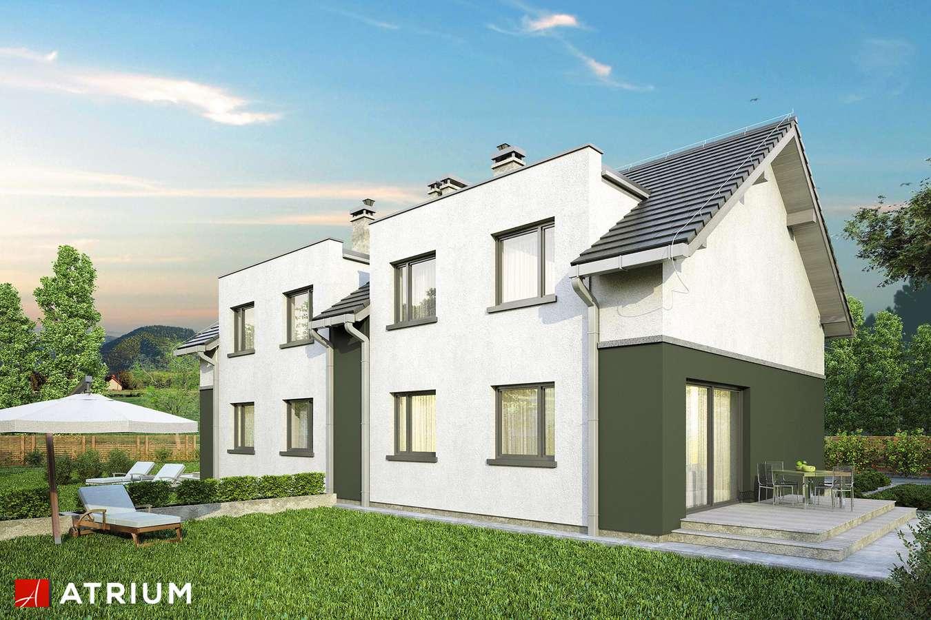 Projekty domów - Projekt domu z poddaszem DOUBLE HOUSE II - wizualizacja 2