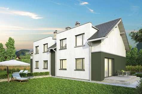 Projekt domu z poddaszem DOUBLE HOUSE II - wizualizacja 2