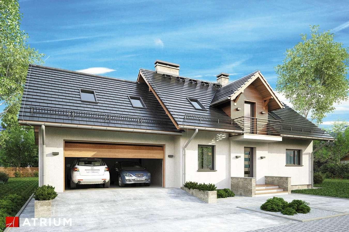 Projekt domu z poddaszem ASTRA III - wizualizacja 1