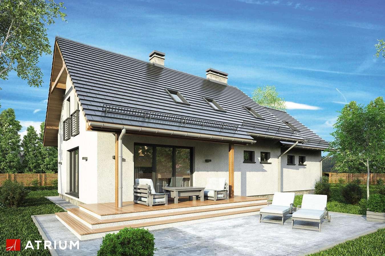 Projekt domu z poddaszem ASTRA III - wizualizacja 2