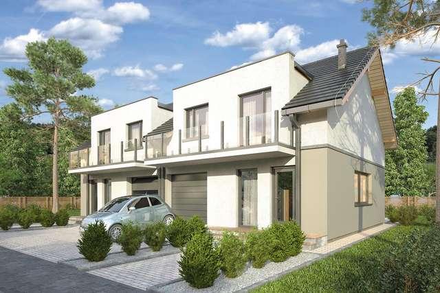 Projekt domu Double House III