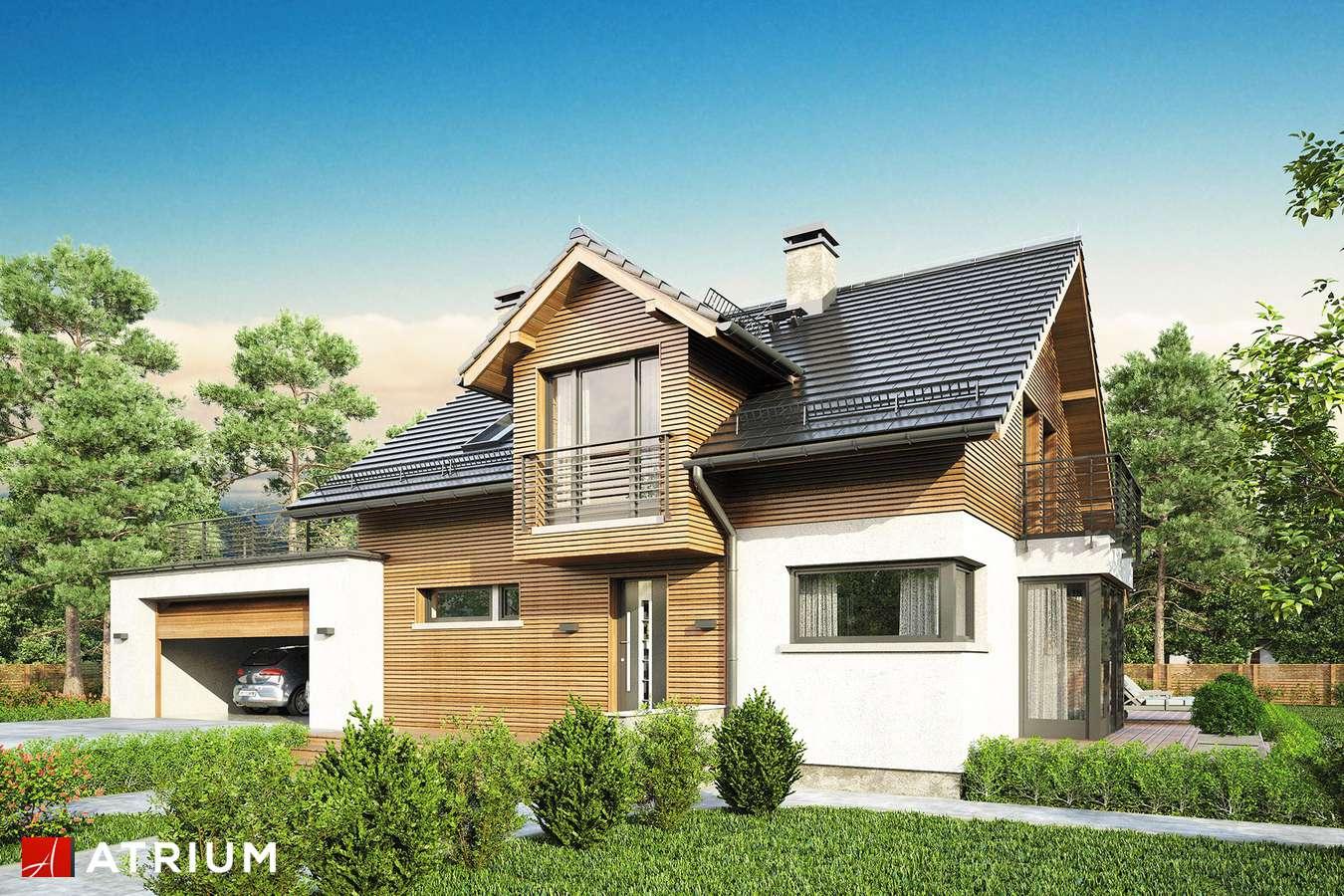 Projekt domu z poddaszem WILLY II - wizualizacja 1