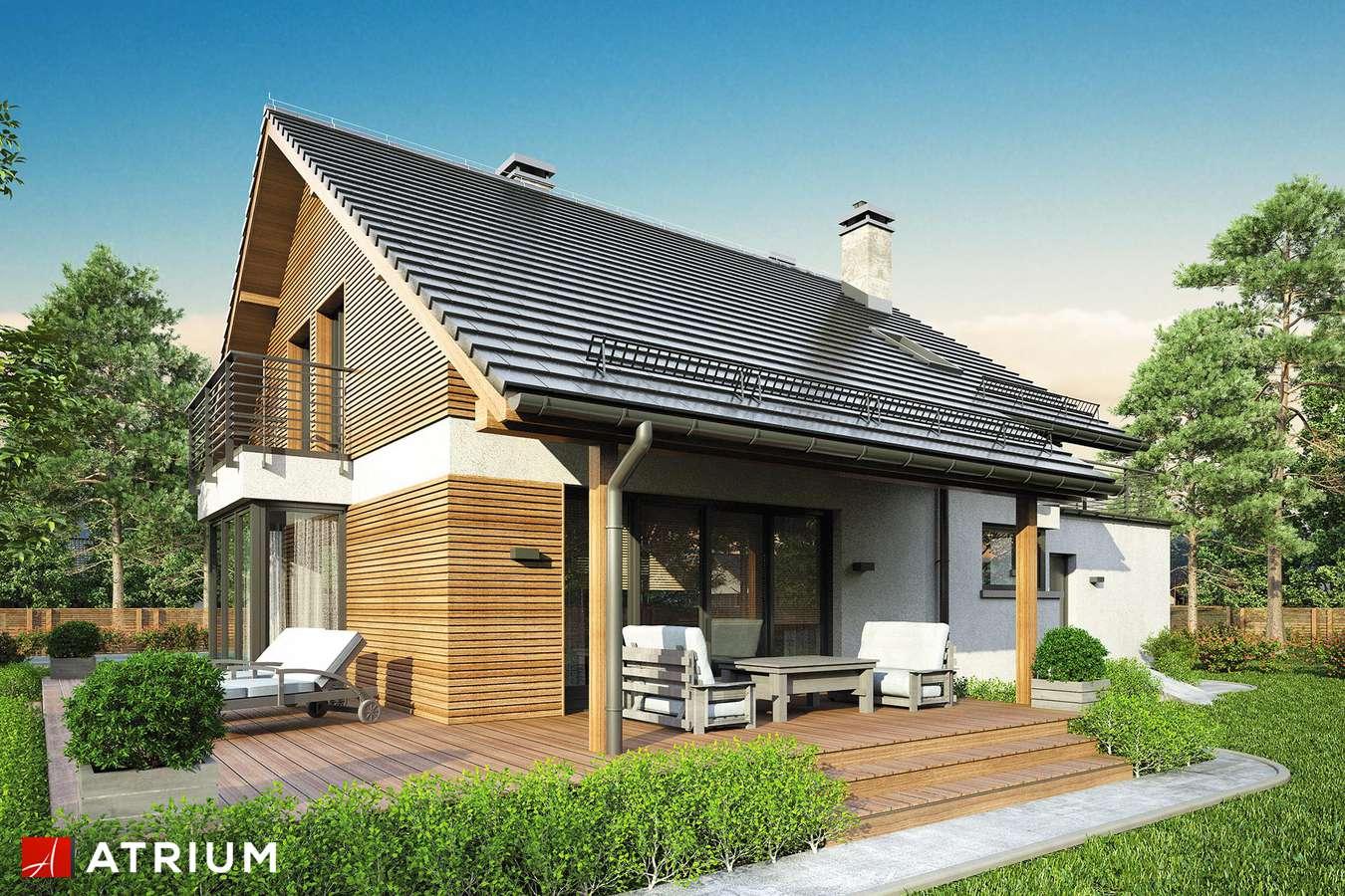 Projekty domów - Projekt domu z poddaszem WILLY II - wizualizacja 2