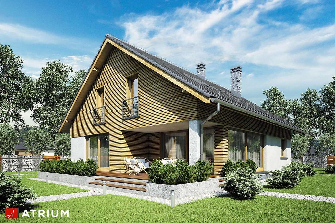 Projekt domu z poddaszem MERLIN V - wizualizacja 2