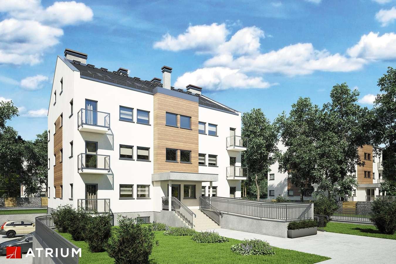 Projekty domów - Projekt domu z poddaszem TOP DOM II - wizualizacja 1