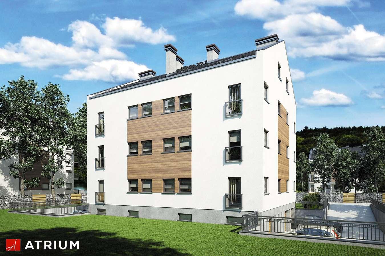 Projekty domów - Projekt domu z poddaszem TOP DOM II - wizualizacja 2
