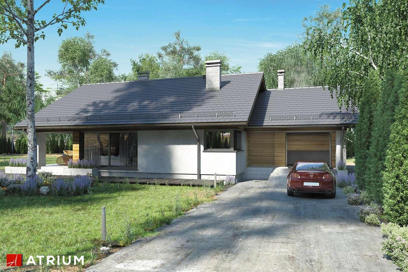 Projekty domów - Projekt domu z poddaszem KOS III - wizualizacja 2