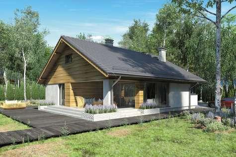 Projekt domu z poddaszem KOS III