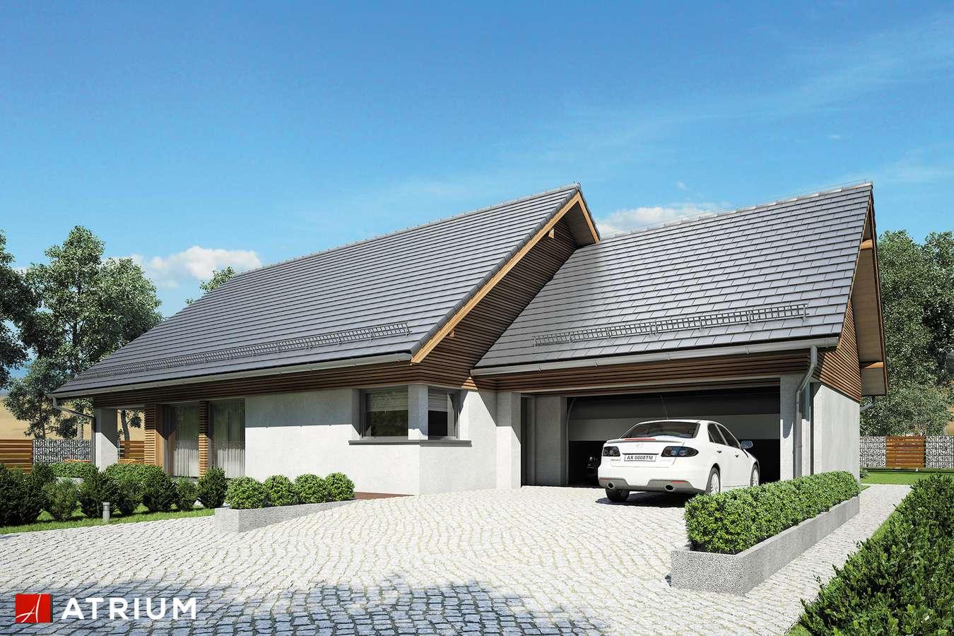 Projekty domów - Projekt domu parterowego MERLIN SP SZ - wizualizacja 1