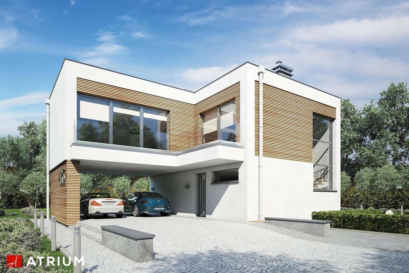 Projekty domów - Projekt domu piętrowego VERTIKAL - wizualizacja 1