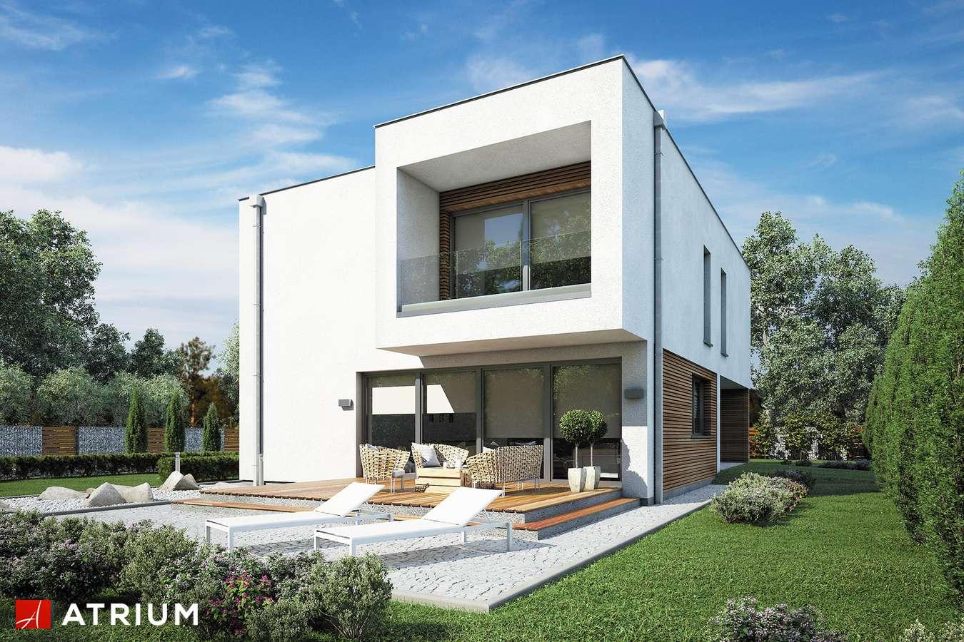 Projekty domów - Projekt domu piętrowego VERTIKAL - wizualizacja 2