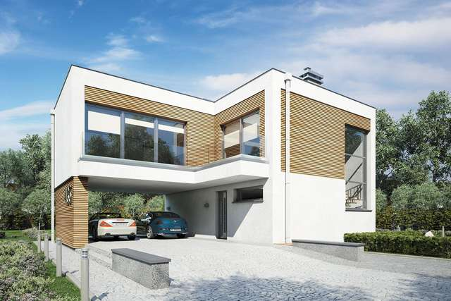 Projekt domu Vertikal
