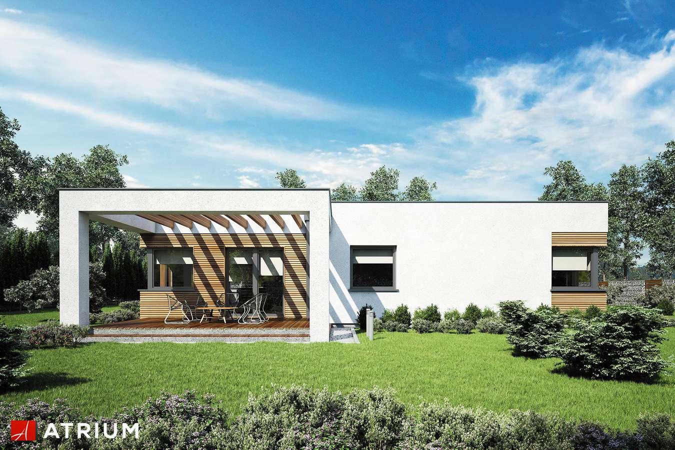 Projekty domów - Projekt domu parterowego IBIZA II - wizualizacja 2
