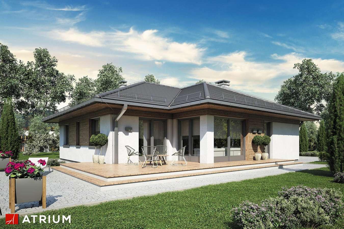 Projekty domów - Projekt domu parterowego MERIDA - wizualizacja 2