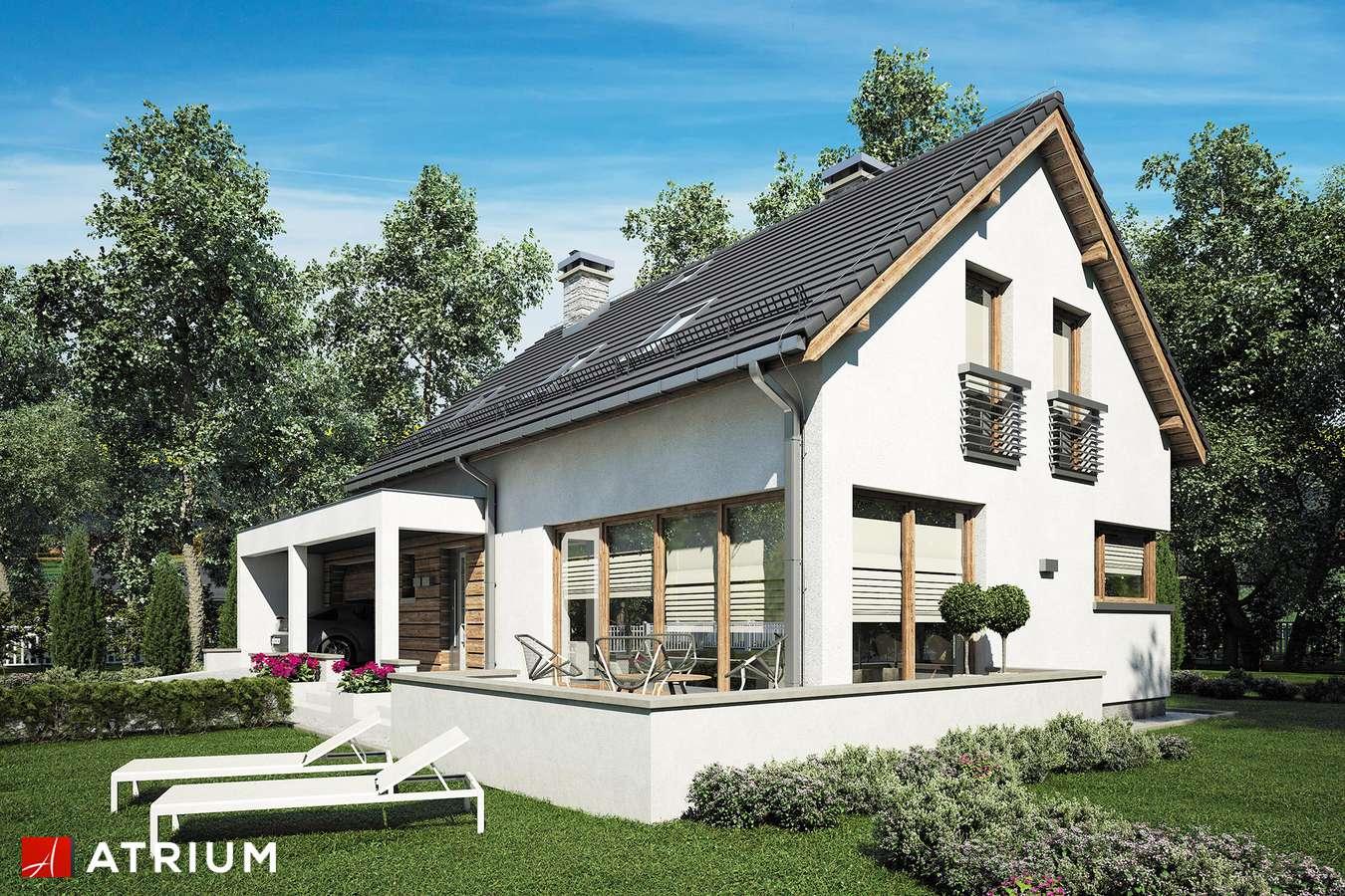 Projekty domów - Projekt domu z poddaszem RUMBA II - wizualizacja 1
