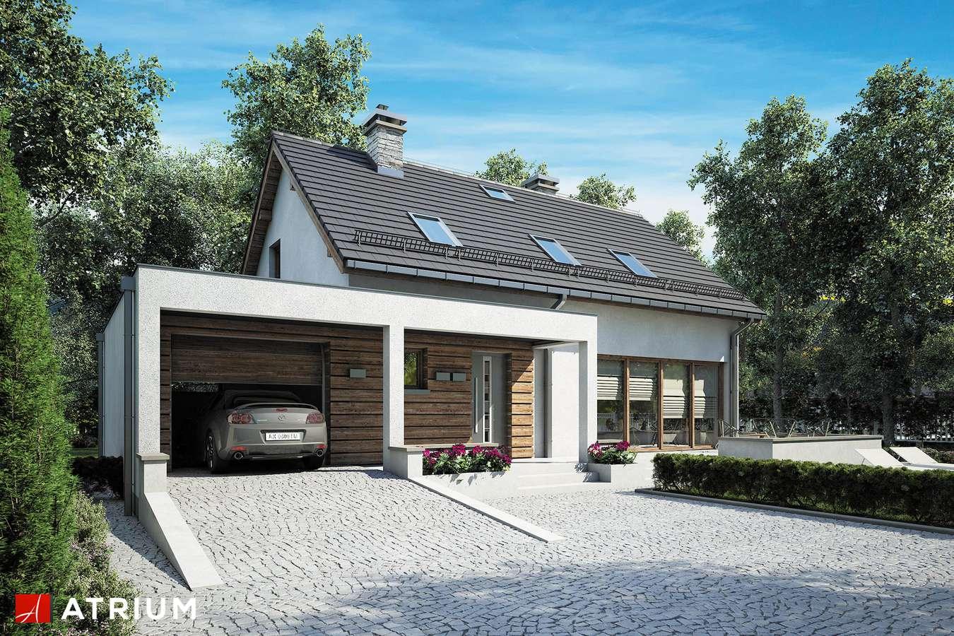 Projekty domów - Projekt domu z poddaszem RUMBA II - wizualizacja 2