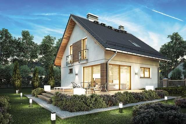 Projekt domu Konkret Plus