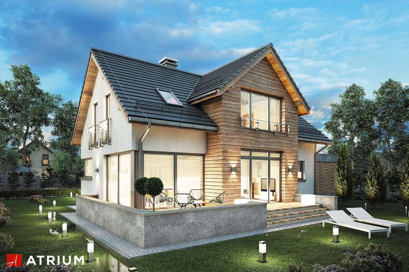 Projekt domu z poddaszem SALSA II - wizualizacja 1