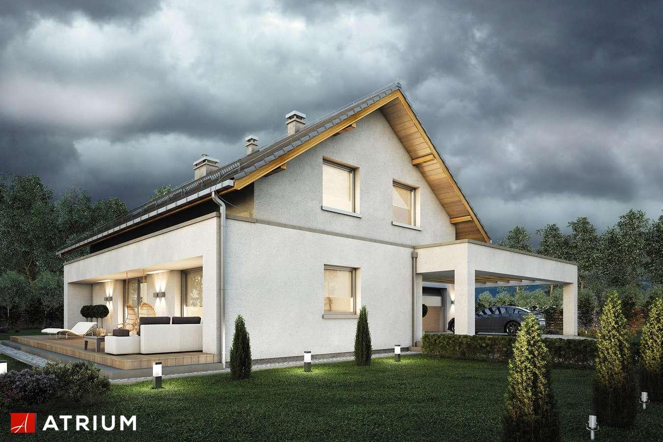 Projekty domów - Projekt domu z poddaszem AWANS - wizualizacja 1