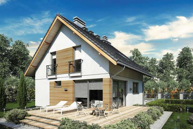 Projekt domu Konkret III