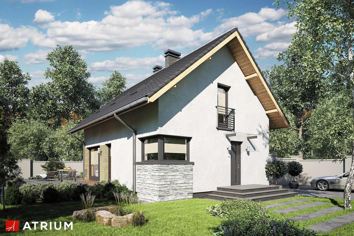 Projekty domów - Projekt domu z poddaszem FELIX III - wizualizacja 2