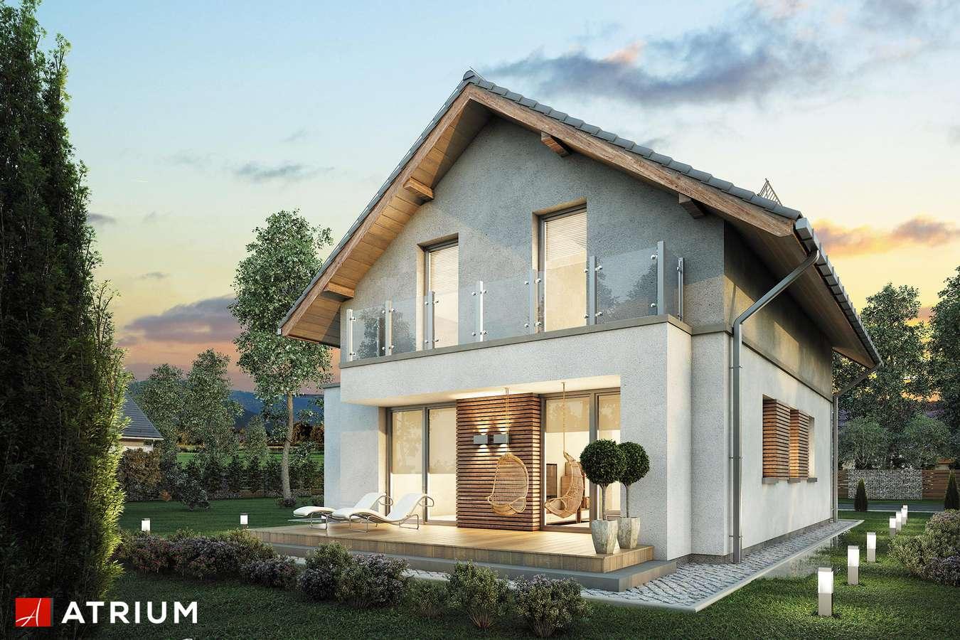 Projekt domu z poddaszem ARGOS - wizualizacja 2