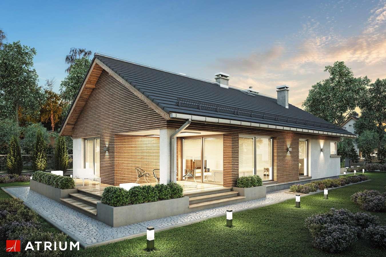 Projekty domów - Projekt domu parterowego PELIKAN SLIM - wizualizacja 2