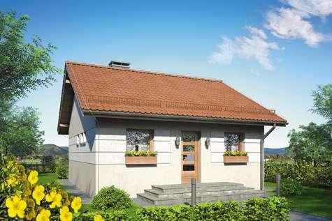 Projekt domu parterowego FILEMON II SZ
