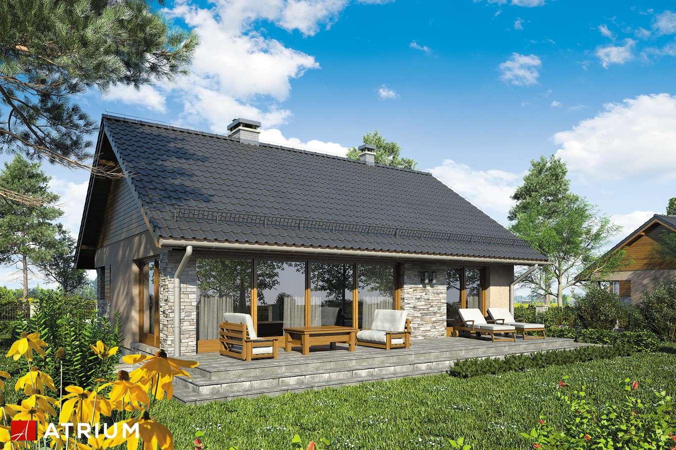 Projekty domów - Projekt domu z poddaszem RICARDO X SZ - wizualizacja 2