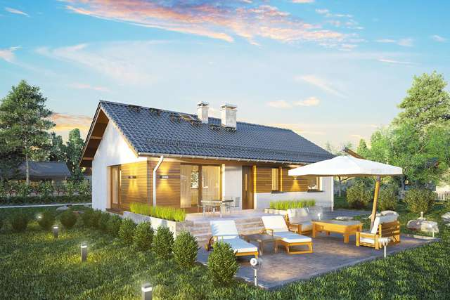 Projekt domu Aurora Midi SZ