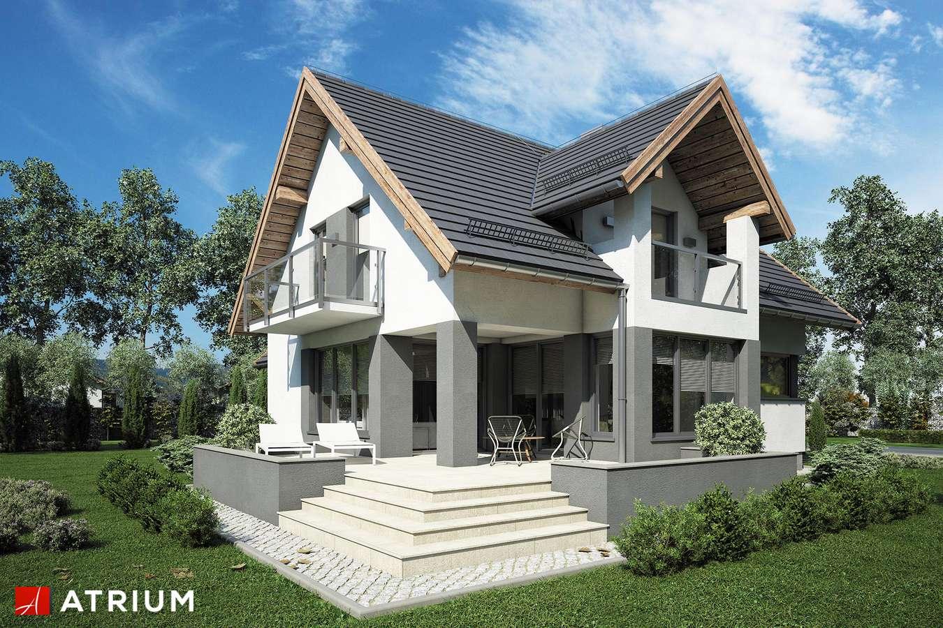 Projekt domu z poddaszem AGAWA VI - wizualizacja 2