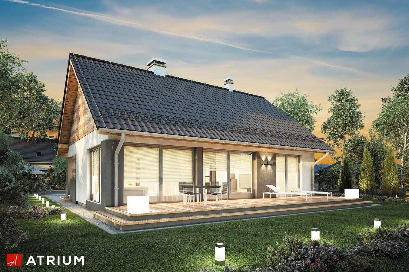 Projekty domów - Projekt domu parterowego RICARDO XVI SZ - wizualizacja 2