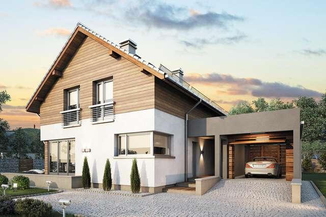 Projekt domu Samba Plus