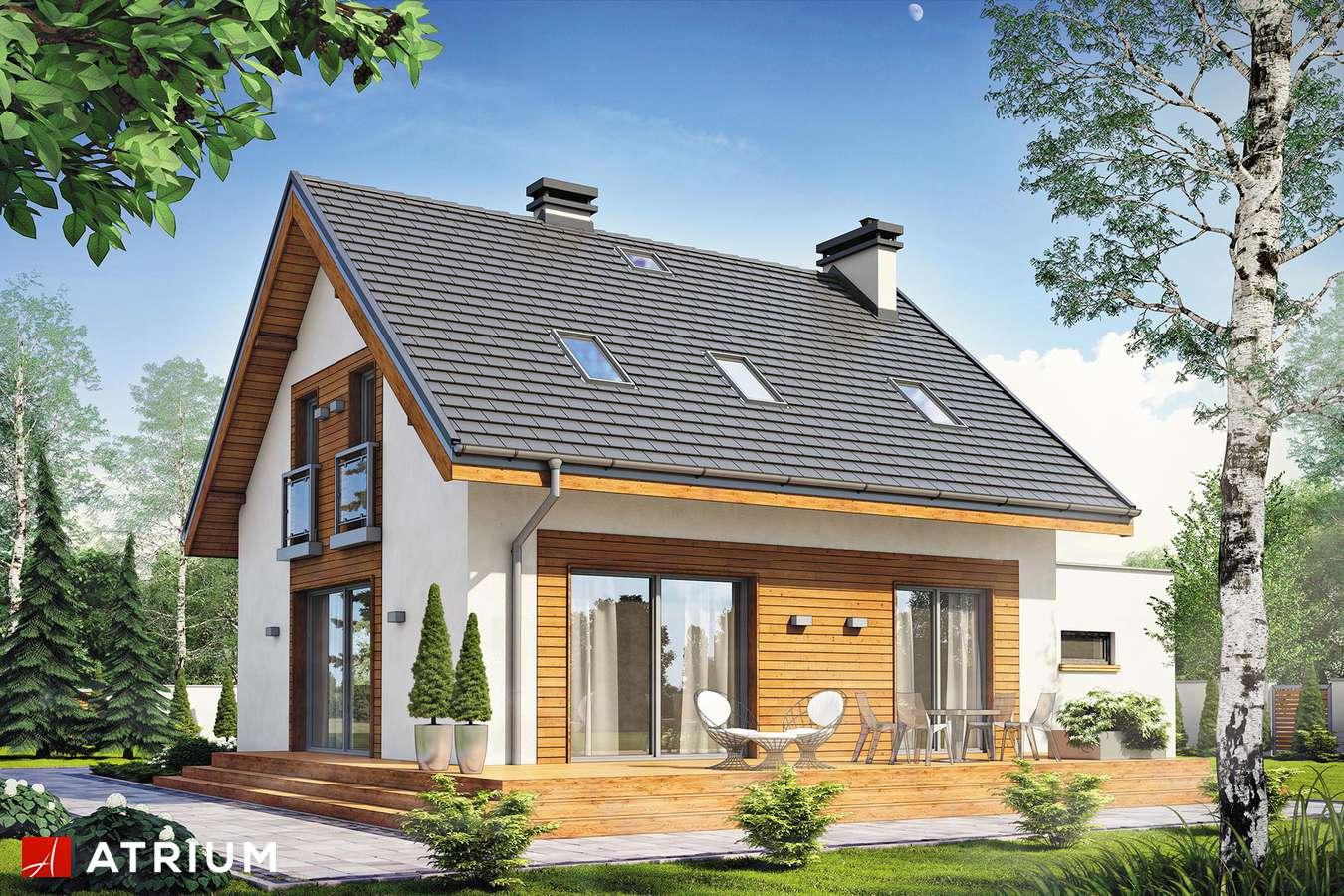 Projekt domu z poddaszem EMERSON II - wizualizacja 2