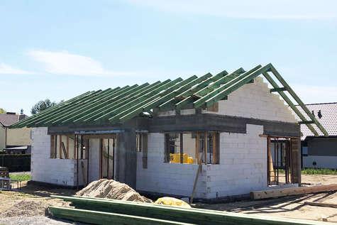 Projekt domu Ricardo Bis w budowie